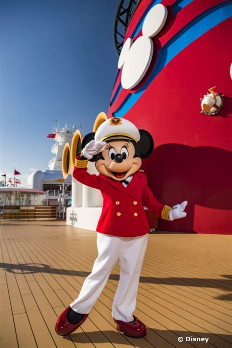 disney cruise  debuts captain minnie mouse  initiatives  encourage women  maritime