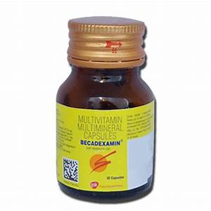 Becadexamin Capsule  30 Cap   Price  Overview  Warnings  Precautions  Side Effects  U0026 Substitutes