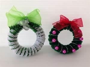 Basteln Draht Weihnachten : basteln mit pfeifenputzer f r weihnachten 8 einfache diy dekoideen ~ Whattoseeinmadrid.com Haus und Dekorationen