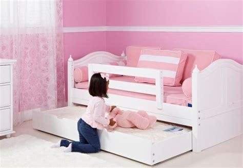 toddler trundle bed white curve daybed with trundle for sleepovers