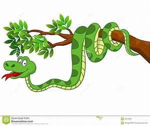 Funny Snake Cartoon Stock Image - Image: 24379031