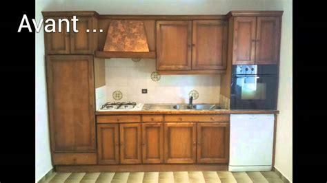 restaurer cuisine renovation cuisine en image avant aprés