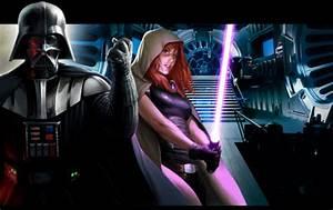 Count Dooku & Asajj Ventress VS Darth Vader & Mara Jade ...