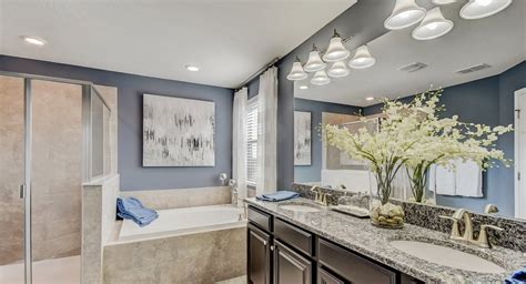 homes  blue bathrooms sell