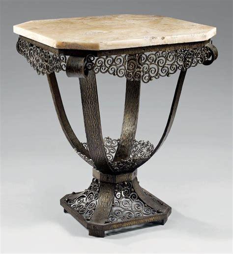 table d appoint fer forge taccoti paulin table d appoint octogonale en fer forg 233 224 d 233 cor d enroulements quatre