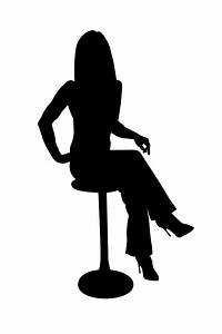 Sitting Silhouette - ClipArt Best