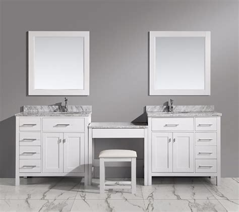 Bathroom Vanity With Makeup Station by Bathroom Makeup Vanity Building A Makeup Station From