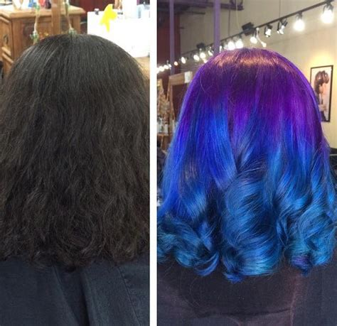 From Black Deep Purple To Royal Blue Ombre Hair Colors Ideas