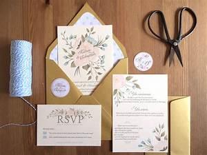 personnalisations le blog d39heloise bijoux de mariee With chambre bébé design avec aquarelle fleurs pour mariage