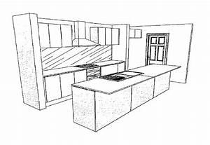 Simple Kitchen Drawing Ideas 610187 Kitchen Ideas Design
