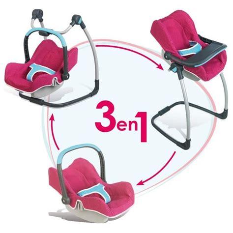 chaise haute en bois bébé confort smoby chaise haute cosy 3 en 1 bébé confort achat vente accessoire poupon cdiscount