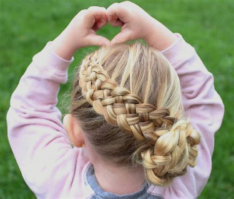 pretty fun  funky braids hairstyles  kids