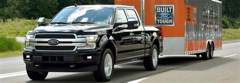 2018 Ford F-150 Towing Capacity And Payload