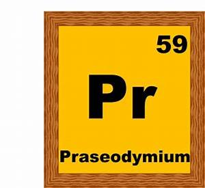 "poem Praseodymium, a poem from the ""Periodic Table of ..."