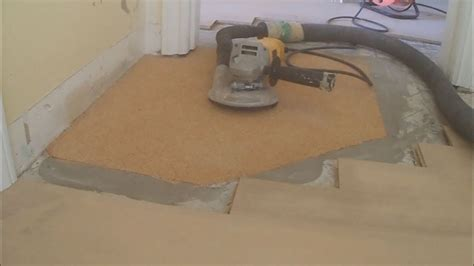 How to Level a Floor with Cork Underlayment Part 4 of 4