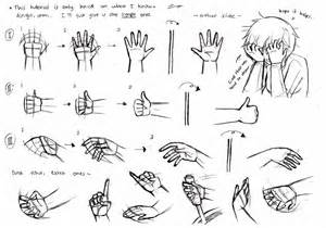 Drawing Anime Hands Tutorial