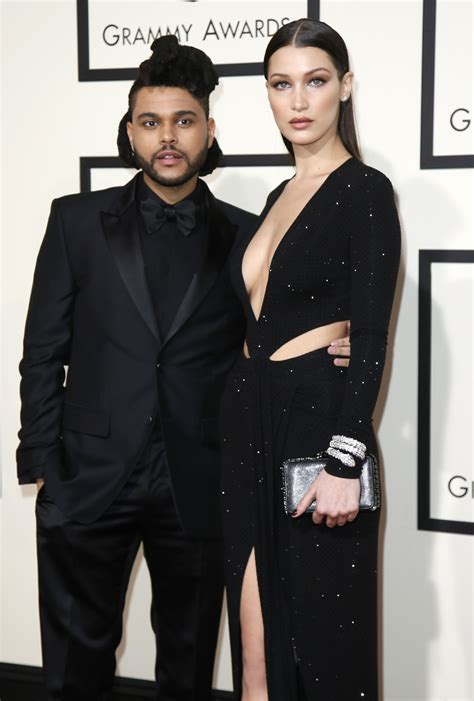Who is the weeknd dating? The Weeknd shares rare selfie with girlfriend Bella Hadid ...