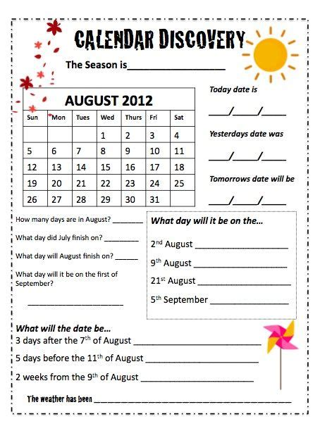 calendar worksheets group times calendar worksheets teaching calendar calendar skills