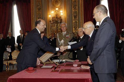 Vice Presidente Consiglio Dei Ministri by Governo Letta Il Giuramento Dei Ministri