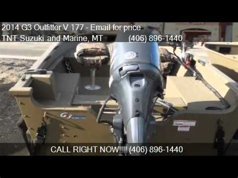 Tnt Suzuki Billings Mt by 2014 G3 Outfitter V 177 Yamaha 70 For Sale In Billings Mt