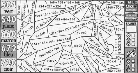 table de multiplication coloriage new calendar template site