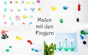 Malen Mit Kindern : malen mit den fingern lustige bilder aus fingerabdr cken ber 50 ideen ~ Markanthonyermac.com Haus und Dekorationen