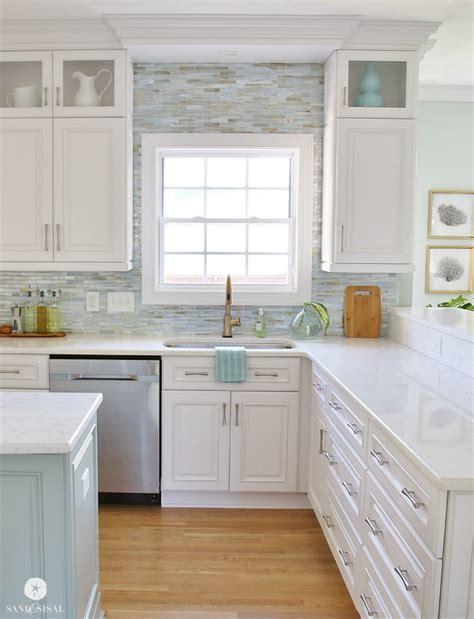 nautical kitchen backsplash coastal kitchen makeover the reveal 1051