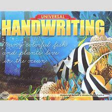 Manuscript Review & Introduction To Cursive  Grade 2mc (universal Handwriting Series) (057638