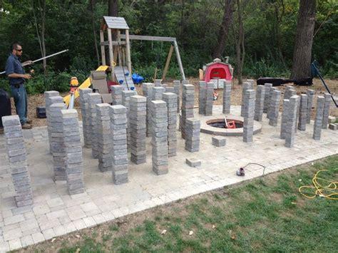 unilock installation 40 best images about brick paver designs hardscape on