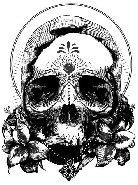 17 Best images about draw .. a skull on Pinterest   Behance, The skulls and Skull design