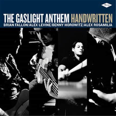 Gaslight Anthem Sink Or Swim Album by The Gaslight Anthem Handwritten Album Review Guitar