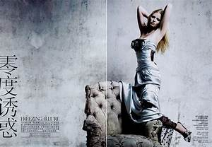 Lara Stone | Sequin Gown