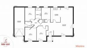 modele et plan de maison meziere par le constructeur With charming plan de maison 2 pieces 4 maison babeau seguin