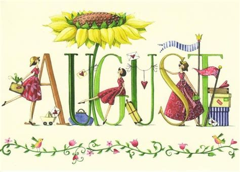 August images on hello august clip art - ClipartBarn