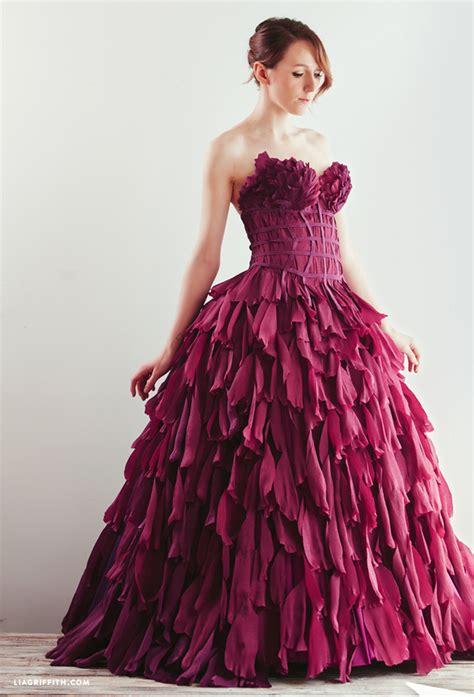 crepe paper dresses lia griffith