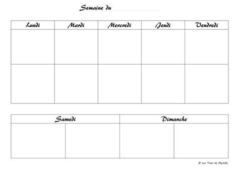 Cliquez ici pour accéder à nos 4 modèles originaux de planning scolaires vierges à remplir et imprimer. Planning Vierge Menu De La Semaine Recettes Cookeo ...