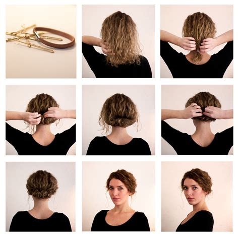 long hair short faux bob hair tutorials