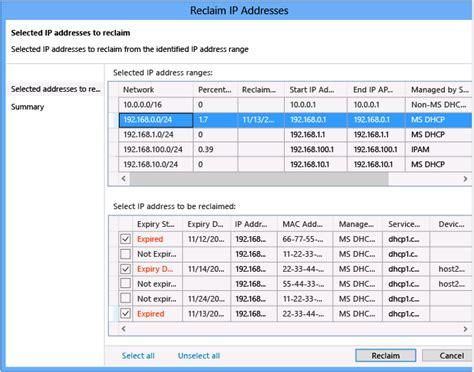 gestion de l espace d adressage ip