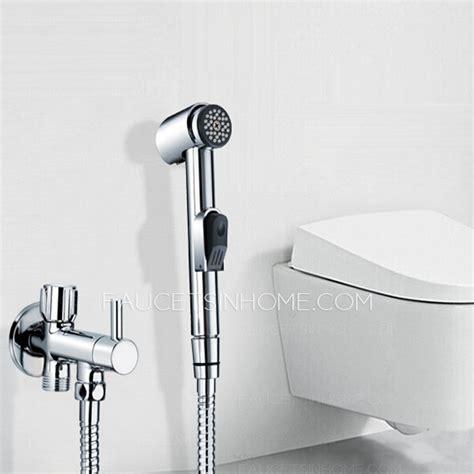 held spray wall mounted bidet faucet