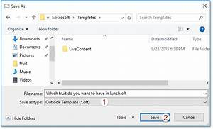 how to save custom voting buttons in outlook email With save outlook email as template