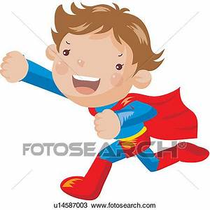 Clipart of powerful, person, people, energetic, superman ...
