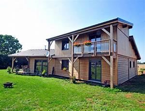 Style De Maison : maison bois style ranch nos maisons ossatures bois maison ~ Dallasstarsshop.com Idées de Décoration