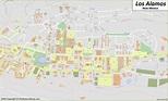 Los Alamos Downtown Map