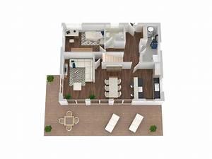 Haus Grundriss Ideen Einfamilienhaus : frisch grundrisse 3d kleines modernes haus grundriss ~ Lizthompson.info Haus und Dekorationen