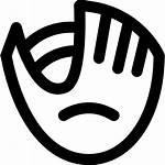 Baseball Glove Vector Icon Icons Clip