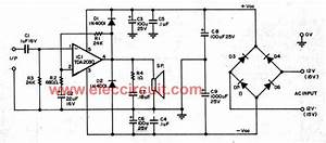 tda2030 audio amplifier circuits eleccircuitcom With tda2030 diagram