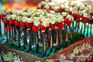 wedding appetizer ideas these hors d 39 oeuvred on forks wedding food appetizers feta cheese dinner