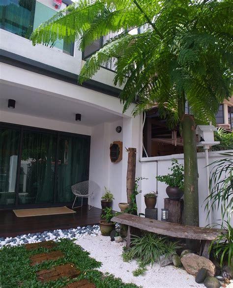 Home Design Ideas Malaysia by Renovated Sunway Damansara Home Terrace House Garden