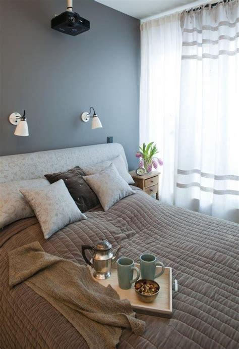 rideaux de chambre adulte peinture murale quelle couleur choisir chambre à coucher