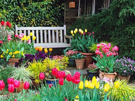 Gartenarbeit & Gartengestaltung  Der Garten Im Frühling